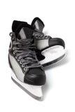 Black skates Stock Images