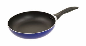 Black skillet Stock Images