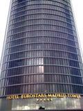 Black skyscraper Stock Image
