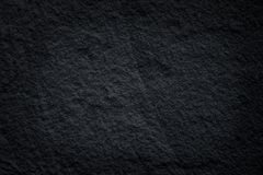 Black slate stone patterns or dark grey stone texture natural abstract on background stock photo