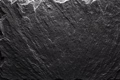 Black slate texture closeup royalty free stock photo