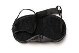Black sleeping mask Stock Images