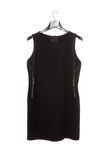Black sleeveless dress Royalty Free Stock Image