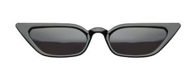 Black Slim Pointed Sunglasses stock images