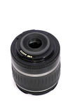 Black SLR Camera Lens. Black Digital SLR Camera Lens royalty free stock images