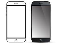 Black Smart Phone Vector Royalty Free Stock Photo