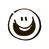 Black smile Royalty Free Stock Images