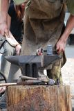 Black smith stock photo