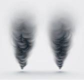 Black Smoke Royalty Free Stock Images