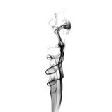 Black smoke swirls Royalty Free Stock Photography