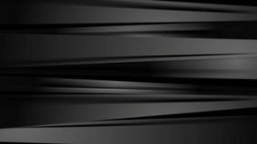 Black smooth stripes corporate abstract background Royalty Free Stock Image