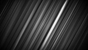 Black smooth stripes and lines animated background stock video