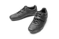 Black sneakers Stock Photography