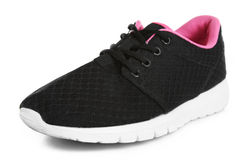Black sneakers Royalty Free Stock Images