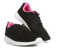 Black sneakers Royalty Free Stock Image