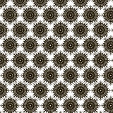 Black snowflakes pattern. Black snowflakes ornament for holidays and decoration Stock Images