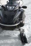 Black Snowmobile - Ski-Doo Royalty Free Stock Photo