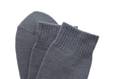 Black sock Royalty Free Stock Photo