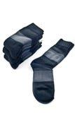 Black socks stock photos
