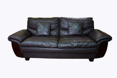 Black sofa Royalty Free Stock Photos