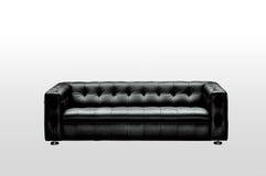 Black sofa Royalty Free Stock Photo