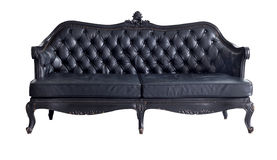 Black sofa Stock Photography
