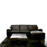 Black sofa Royalty Free Stock Photography