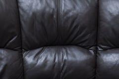 Black sofa background Royalty Free Stock Photos