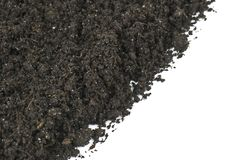 Black soil Royalty Free Stock Images