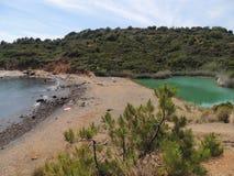 Black Soil Lake - Elba Island Royalty Free Stock Images