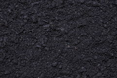 Black soil for plants Stock Photo