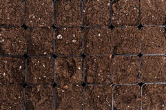 Black Soil Texture Background royalty free stock image