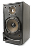 Black sound speaker Stock Photos