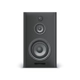 Black sound speaker Royalty Free Stock Photo