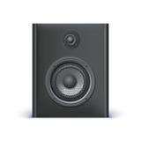 Black sound speaker Stock Images