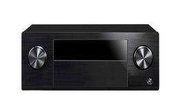 Black sound system Stock Images