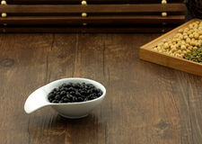 Black soya bean Royalty Free Stock Photography