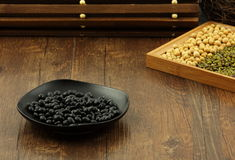 Black soya bean Royalty Free Stock Photo