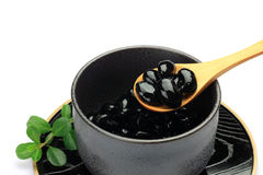 Black soybean Stock Image