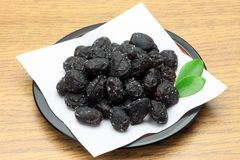 Black soybean Stock Photography