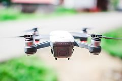 Black Spark Quadcopter Stock Images