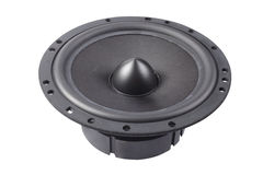 Black speaker Royalty Free Stock Photos