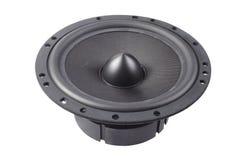 Black speaker Royalty Free Stock Photos