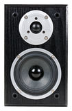 Black speaker Stock Image
