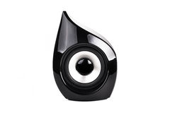 Black Speaker Royalty Free Stock Photography