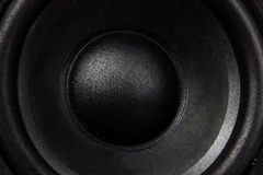 Black Speaker Stock Photography