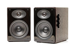 Black speaker Royalty Free Stock Photo