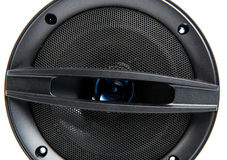 Black speaker Stock Photo