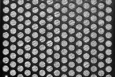 Black  speaker grid texture Stock Photos