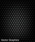 Black speaker grill, metal background Royalty Free Stock Image